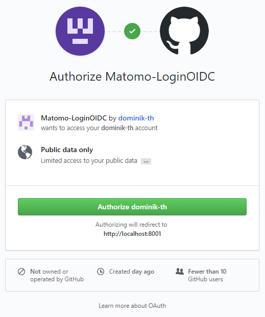 Login OIDC - Matomo Plugins Marketplace